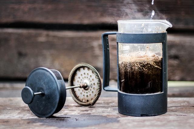 French Press pozwala nam osiągnąć delikatną, ale bardzo aromatyczną kawę.